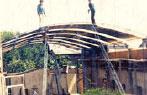 1986 - Construcción del edificio en donde la fábrica está actualmente