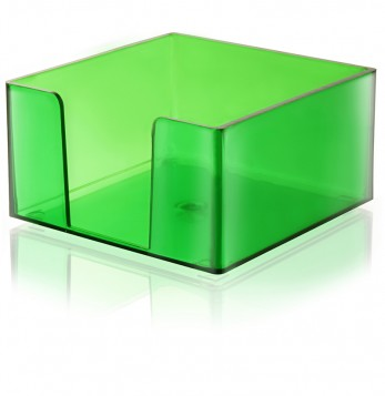 PORTA TACO 9X9 verde TRANSLUCIDO