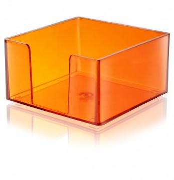 PORTA TACO 9X9 naranja TRANSLUCIDO